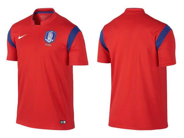 Camisa Nike Coreia do Sul Copa do Mundo 2014
