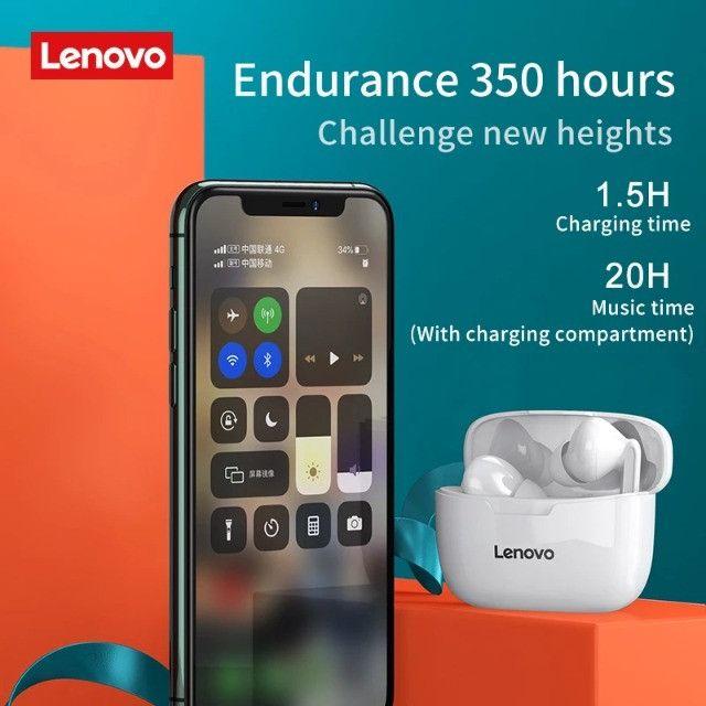 Fone Lenovo XT90 Wireless Earphone Bluetooth 5.0 - Original - Foto 5