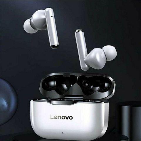 Fone de ouvido Lenovo LP1 bluetooth 5.0 a prova d'água. - Foto 2