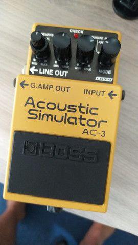 Pedal Boss Acoustic Simulator AC3 - Foto 4