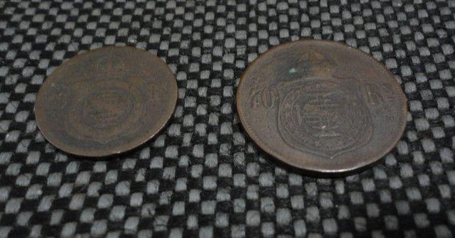 Conjunto de moedas de Réis - Foto 4