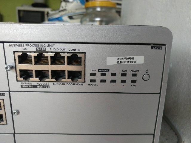 Central Omnipcx Office Com Módulos Alcatel Telefone - Foto 2