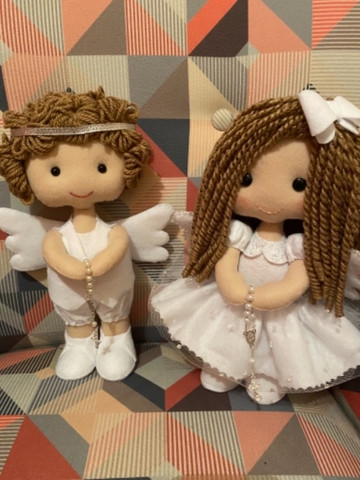 Enfeites Batizado - Anjos - Foto 6