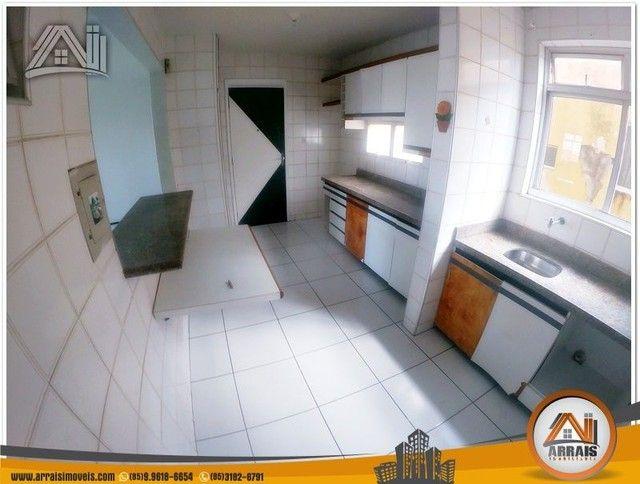 Apartamento com 3 dormitórios à venda, 118 m² por R$ 300.000,00 - Vila União - Fortaleza/C - Foto 10