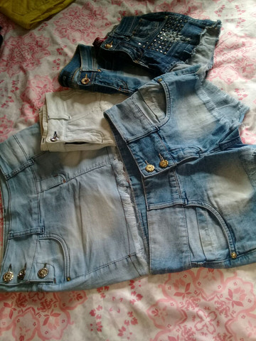 Shorts jeans (TODAS POR 50.00)