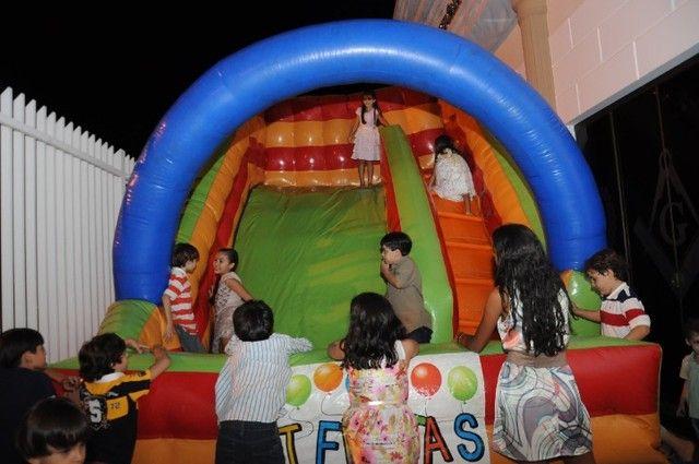 Escorregador inflável