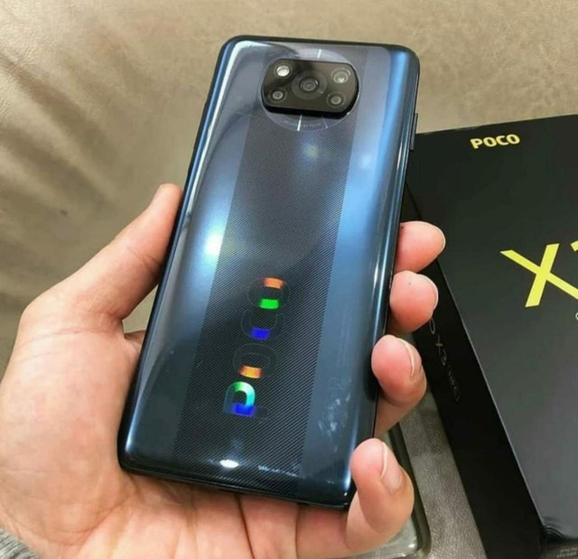 Smartphone top da loja _ Poco X3 128 / 6 Gigas de memória - Tela 6.67 polegadas - Foto 5