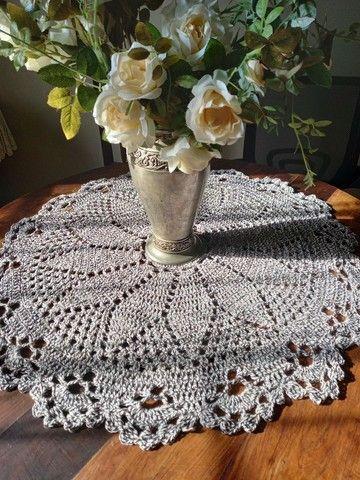 Centros de mesa croche - Foto 4