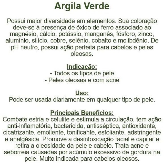Argila Preta, Branca, Verde, Rosa, Amarela, Vermelha, Marrom, Cinza 100g  - Foto 5