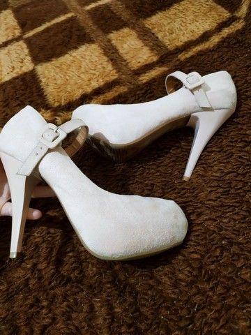 Sapato rosa claro
