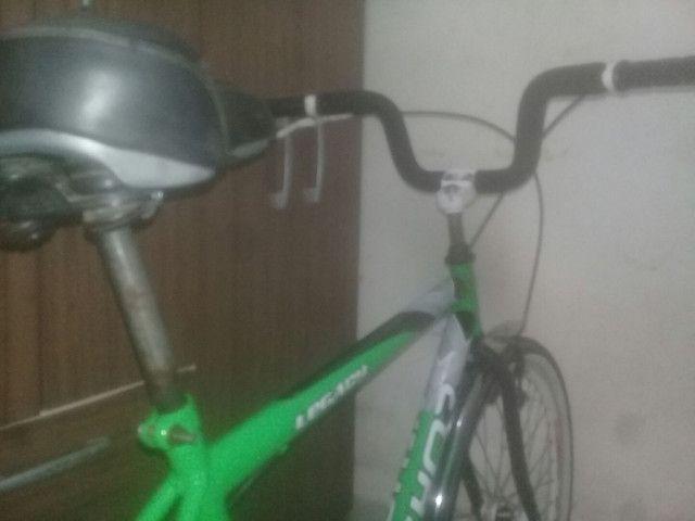 Bicicleta peças novas montei mais precisarei vender pouco usada , em perfeito estado! - Foto 4