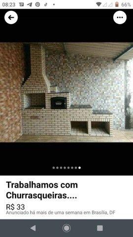 Venha conhecer nosso trabalho....churrasqueiras feitas de tijolinho maciço aparente... - Foto 4