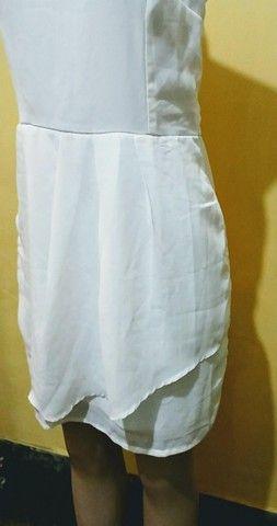 Vestido branco Folic novo. - Foto 2
