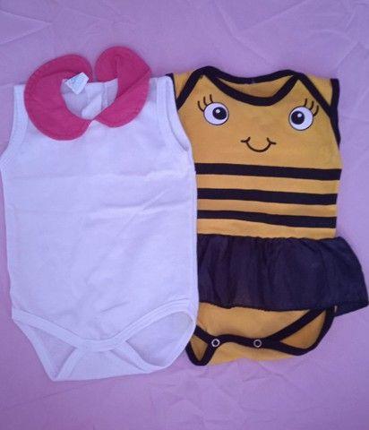 Lote roupa menina (0-6 meses) - Foto 6