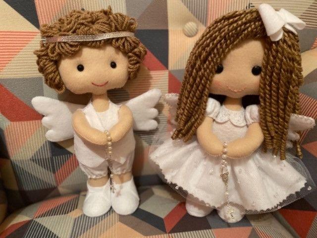 Enfeites Batizado - Anjos
