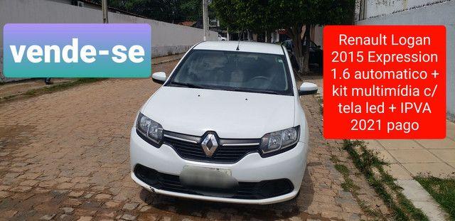 Renault Logan Expression 1.6 automático 2015 - Foto 2