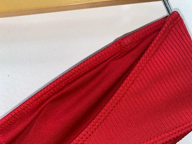 Top Canelado Vermelho - Foto 4