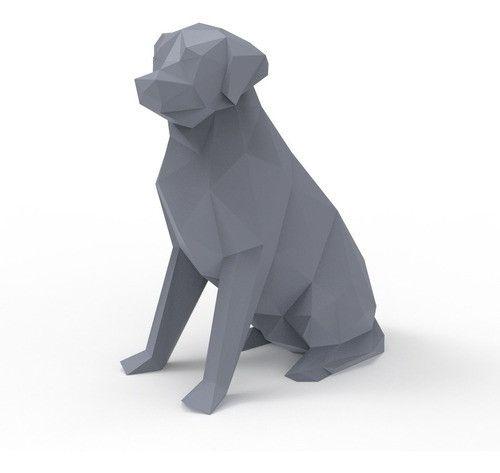 Labrador Geométrico 3D - Foto 3