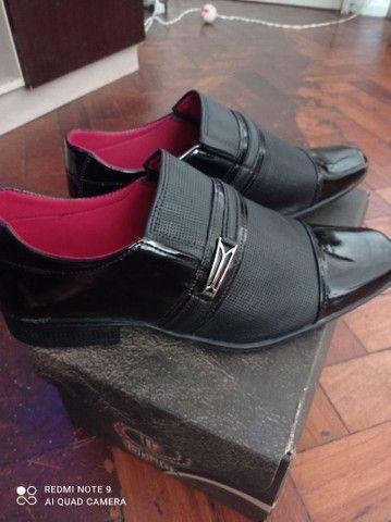 Sapato social masculino  envernizado - Foto 3