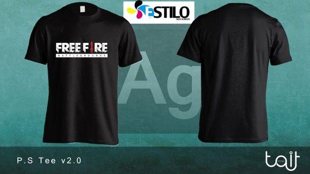 Camisa Personalizada Free Fire