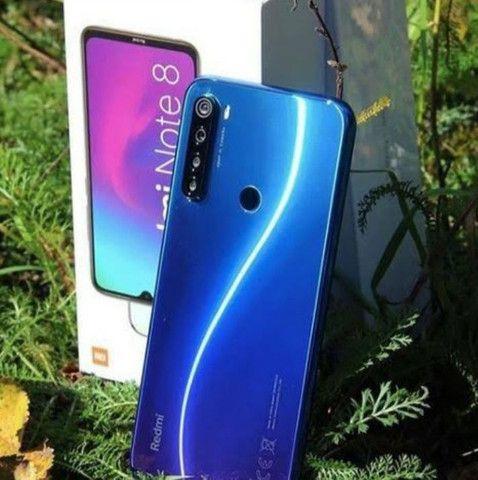 128 Gigas de memória ' Smartphone Android 10 ' Dual Chip ' Note 8 _128 Xiaomi - Foto 2