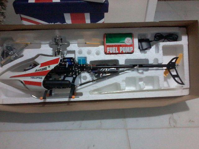 Helicóptero Black Hawk 500GP Nitro novo na caixa completo,(baixei preço prá torrar)
