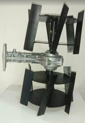 Enxada rotativa para roçadeira a gasolina. Top