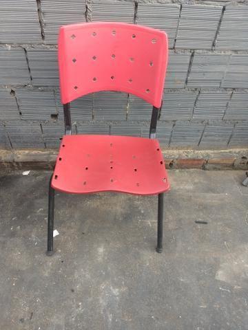 Cadeira ergoplax fixa semi nova