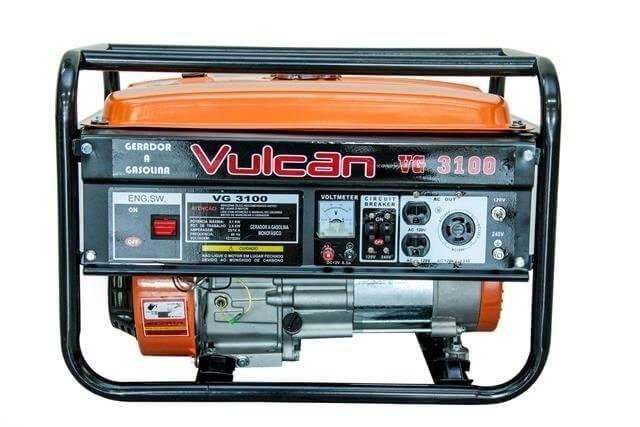 Gerador gasolina 3100 vulcan