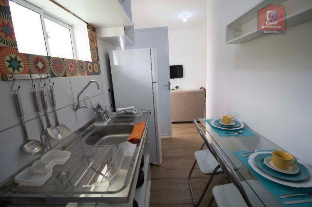 Apartamento Candelária 1Q 100%Mobiliado- Lançamento HBC Qualidade Garantida