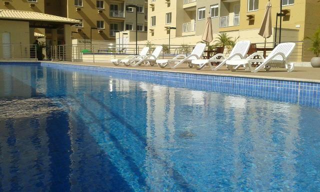 Apartamento de 2Q em Campo Grande, lazer completo, sol da manhã, Cariacica