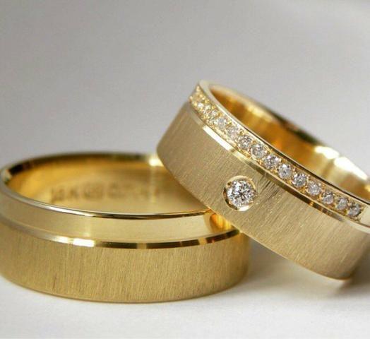 Fabricamos Alianças em ouro 18k, atenção a Descrição - Foto 6
