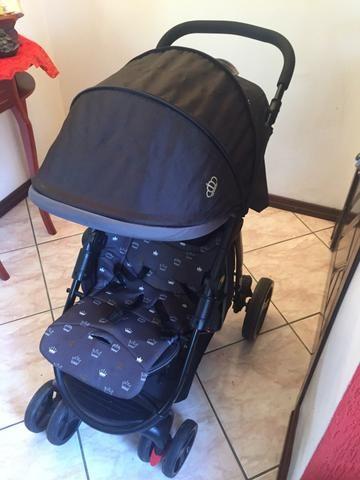 Carrinho de bebê e cadeirinha para carro seminovos - Foto 5