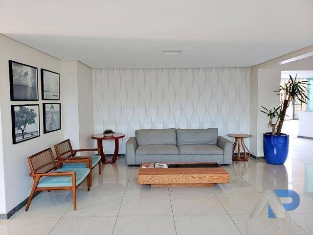 Apartamento com 3 dormitórios à venda, 106 m² por r$ 550.000 avenida cardeal da silva, 182 - Foto 15