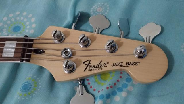 Fender jazz Bass ativo 5c - Foto 4