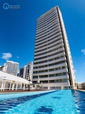 Apartamento com 3 dormitórios à venda, 115 m² por R$ 585.000 - Cocó - Fortaleza/CE