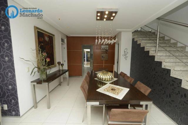 Casa com 4 dormitórios à venda, 335 m² por R$ 1.390.000 - Cambeba - Fortaleza/CE - Foto 4