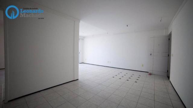 Apartamento com 3 dormitórios à venda, 99 m² por R$ 350.000 - Cocó - Fortaleza/CE - Foto 5