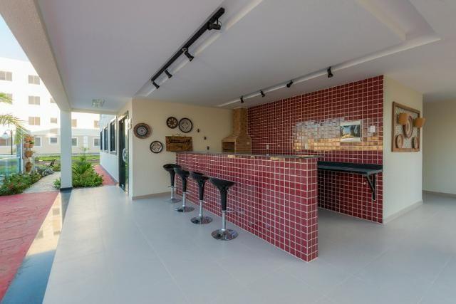 Apartamento no sim - parque flora - térreo c/ área excedente - R$: 750,00 - Foto 5