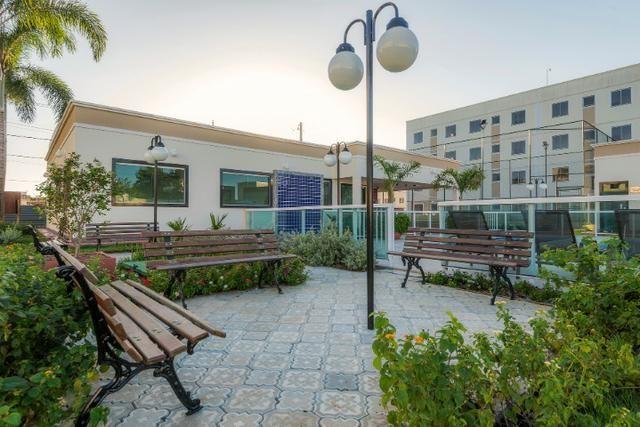 Apartamento no sim - parque flora - térreo c/ área excedente - R$: 750,00 - Foto 4