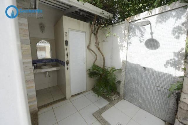 Casa com 4 dormitórios à venda, 335 m² por R$ 1.390.000 - Cambeba - Fortaleza/CE - Foto 14