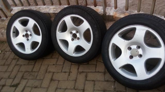 Rodas com pneus aro 16 - Foto 3