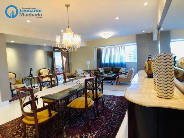 Apartamento Cobertura com 4 dormitórios à venda, 346 m² por R$ 2.500.000 - Meireles - Fort - Foto 19