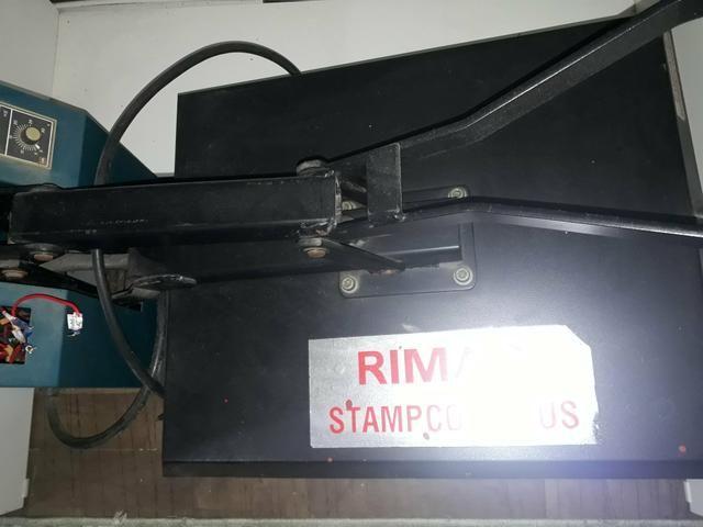Prensa Rimaq Stampcor Plus para sublimação e filme de recorte - Foto 3