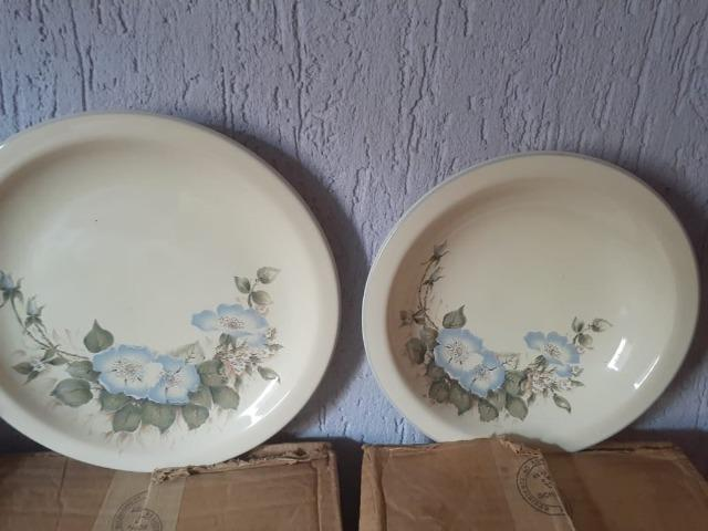 Conjunto de Porcelana Schmidt decorados - Foto 5