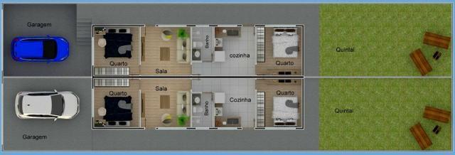 Casa Geminada - excelente investimento - Foto 8