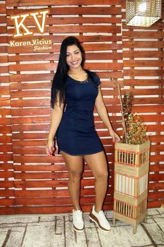 Vestido Jeans da Karen Vicius 36