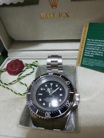 14e436c1081 Rolex deepsea challeng ring lock system 1ª linha gigante ...