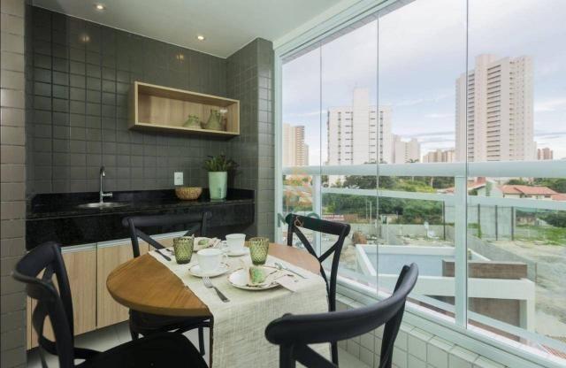 Apartamento com 3 dormitórios à venda, 90 m² por R$ 680.000 - Guararapes - Fortaleza/CE - Foto 12