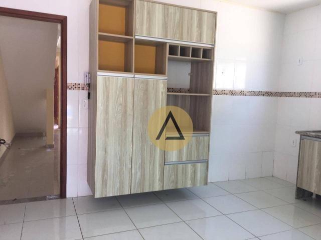 Atlântica Imóveis tem maravilhosa casa para venda no bairro Village em Rio das Ostras/RJ - Foto 15